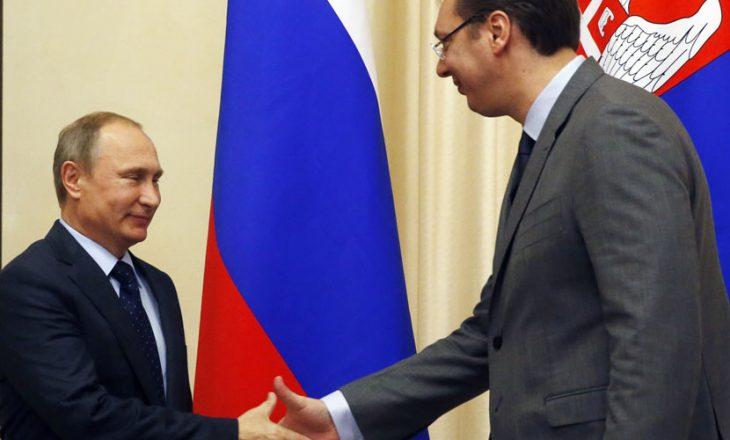 Vuçiq takon sot Putinin
