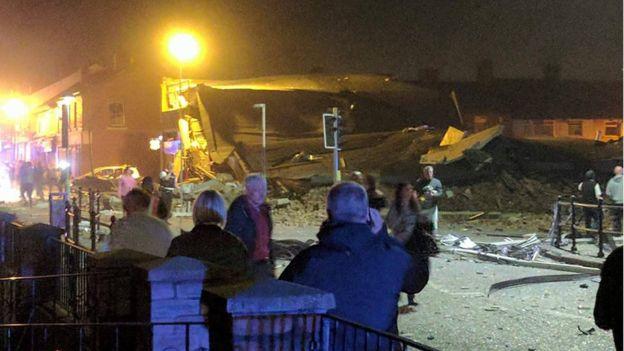 Dhjetëra të plagosur nga një shpërthimi i fuqishëm në Liverpool