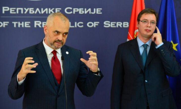 Konflikti mes Ramës dhe Vuçiqit për Kosovën në Sarajevë