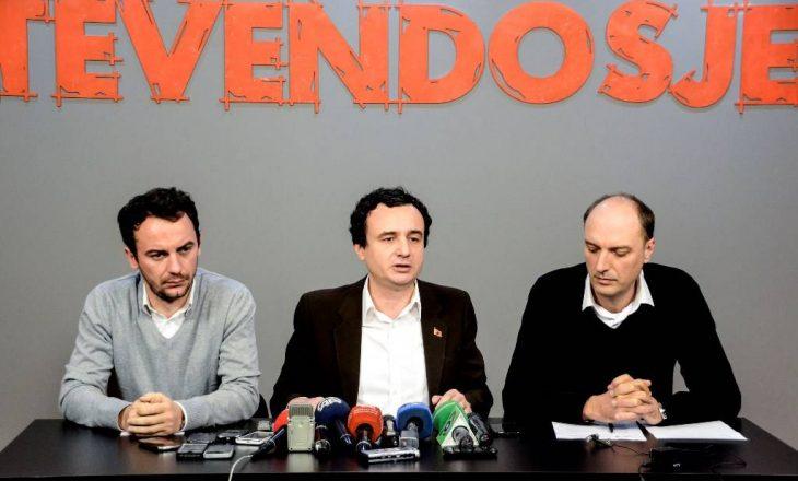 Vetëvendosje: Pa e analizuar, nuk e votojmë ligjin për transformimin e FSK-së