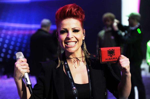 Aurela Gaçe në garë për 40 këngët më të mira të Eurovisionit