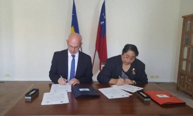 Kosova dhe Samoa lidhin marrëdhënie diplomatike