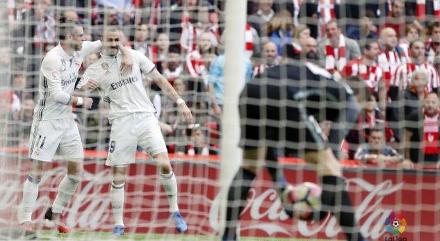 Real Madrid fiton në Bilbao