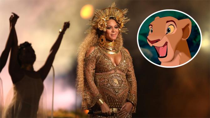 """Beyonce pjesë e ribërjes së filmit të animuar """"Disney Lion King"""""""