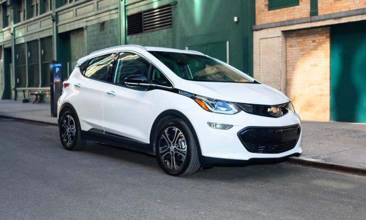 "Chevrolet ""zbulon"" makinën e re elektrike"