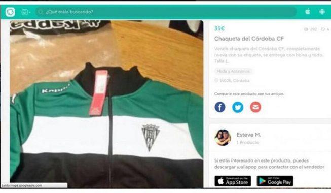Lojtari i klubit spanjoll shet xhaketën e klubit për 35€