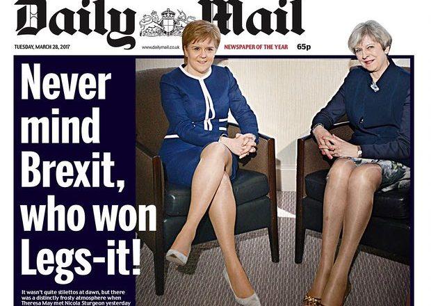 Ambasadorja Çitaku reagon ndaj titullit seksist të Daily Mail