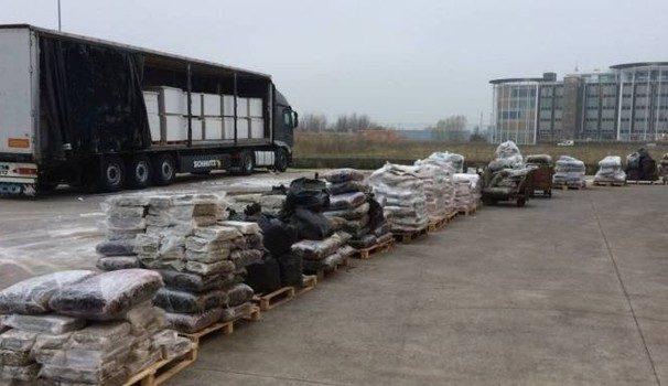 Itali, sekuestrohen 2 ton hashash në kamionin shqiptar