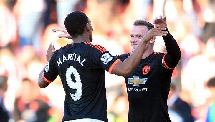 Rooney dhe Martial mungojnë ndaj Rostovit