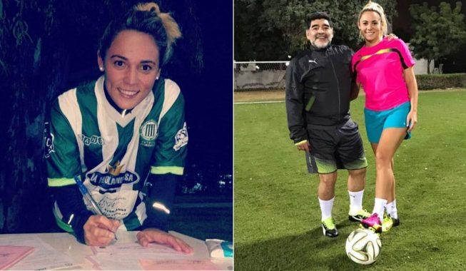 E dashura e Maradonës fillon futbollin në Argjentinë