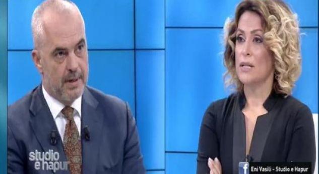 Gazetarja i kundërpërgjigjet Ramës: Mos më thuaj 'stop' në studion time