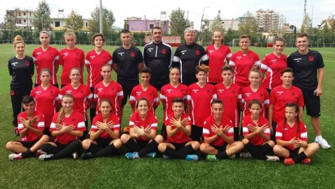 Futbolli i femrave, kombëtarja U19 mund Malin e Zi