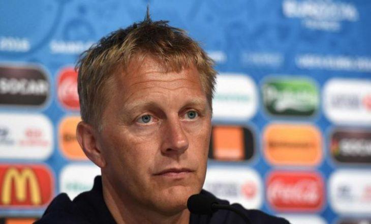 Këto tre pikë i morëm me fat    trajneri i Islandës lavdëron Kosovën