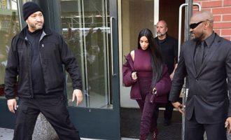 Kim Kardashian 24 orë me roje