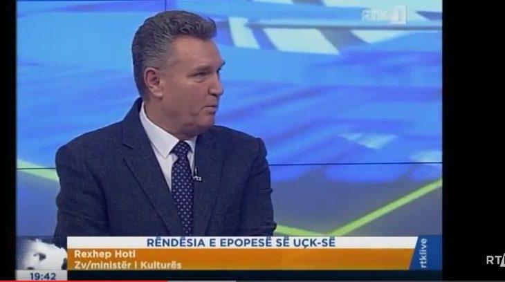 RTK e fton të flas për Epopenë e UÇK-së, Hoti lavdëron Thaçin