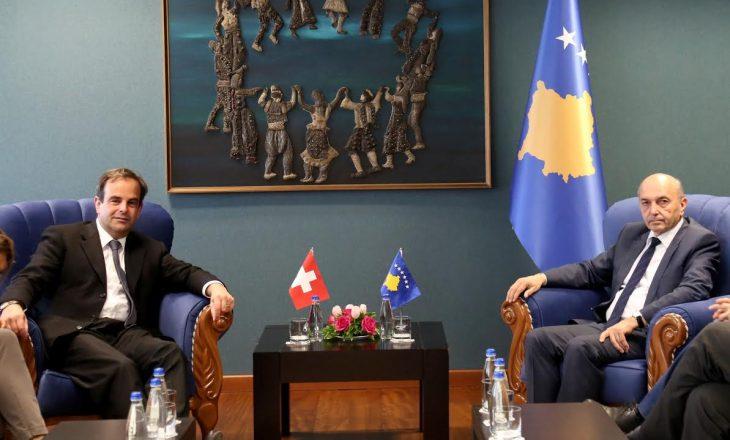Kosova e përkushtuar për thellimin e bashkëpunimit me Zvicrën