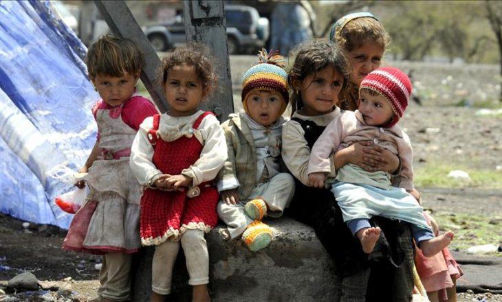 Dyfishohet numri i fëmijëve të vdekur në Jemen