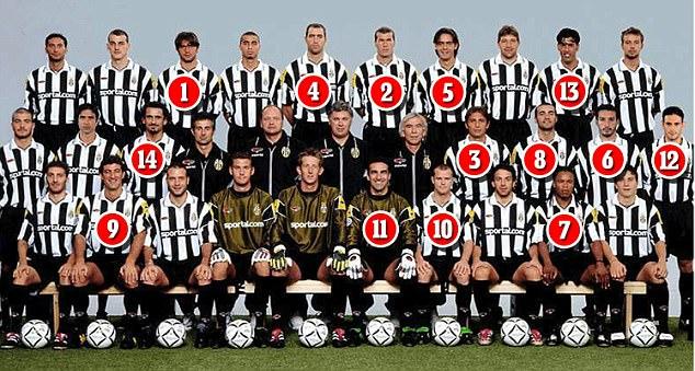 Juventusi i vitit 2001 që prodhoi 14 trajnerë