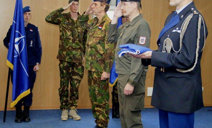 KFOR-i holandez përfundon misionin në Kosovë