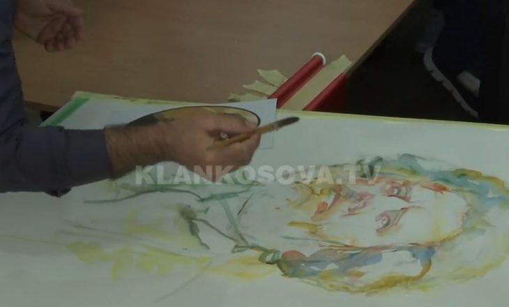 """""""Ai e rrezikoi jetën për ju"""" – turku i Kanadasë pikturon Adem Jasharin"""