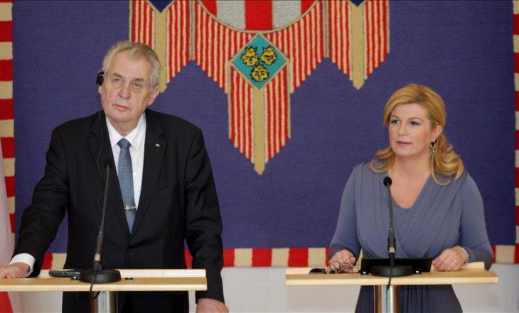 Presidenti i Çekisë, Zeman: Kosova nuk i përket NATO-s