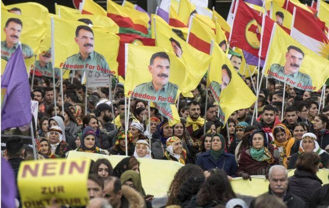 30 mijë protestues kundër Erdoganit në Gjermani