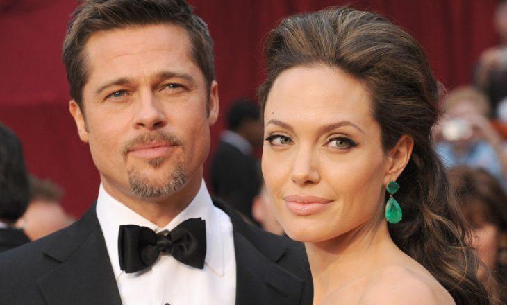Gjashtë muaj pas ndarjes, Pitt dhe Jolie flasin sërish me njëri tjetrin