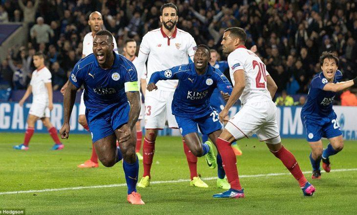 Leicester shkruan historinë, kalon në çerekfinale të Ligës së Kampionëve [video]