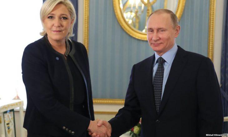 Le Pen thotë se sanksionet kundër Rusisë duhet të hiqen