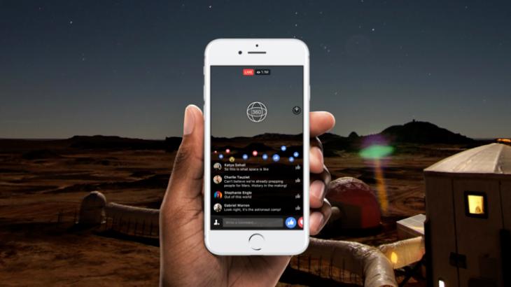Facebook Live 360 i disponueshëm për të gjithë në mbarë botën