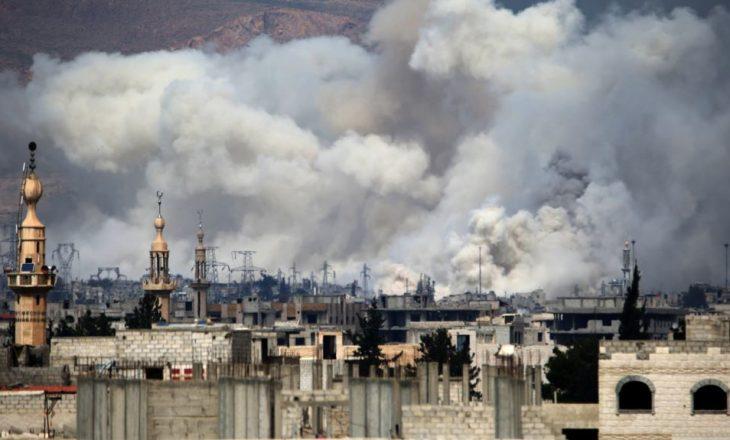 Luftime të ashpra në Damask