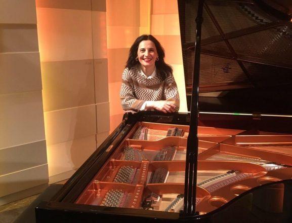 Pianistja Lule Elezi incizon CD ndërkombëtare në Mozart Haus të Vjenës