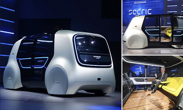 Volkswagen sjell makinën pa shofer