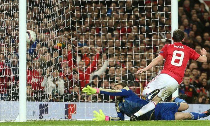 Man.Utd në çerekfinale të Ligës së Evropës