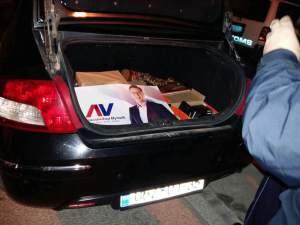 Arrestohet kryetari i Ranillukut, konfiskohen pankarta të Vuçiqit