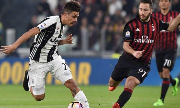 Juventus mposht Milanin mes polemikave [video]