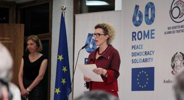 """""""Liberalizimi i vizave, tani ose kurrë"""" – Ministrja e Integrimeve i bën presion BE-së"""