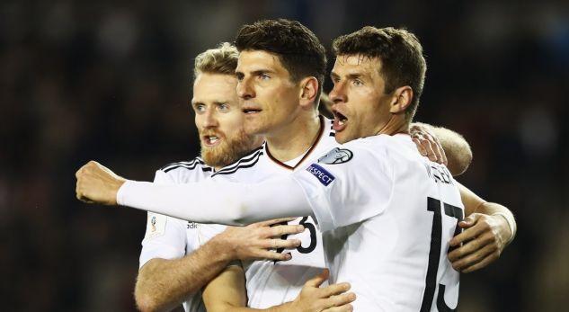Gjermania e kalon lehtë Azerbajxhanin