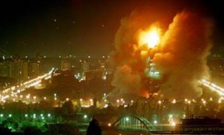 """Serbët e veriut përkujtojnë """"agresionin"""" e NATO-s"""