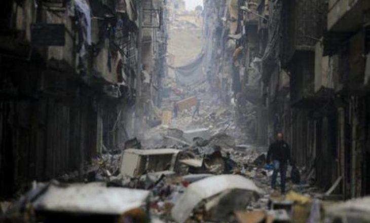Banorët e Alepos shijojnë paqen mes gërmadhave