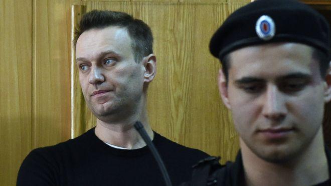 15 ditë burgim liderit të opozitës ruse për mosbindje