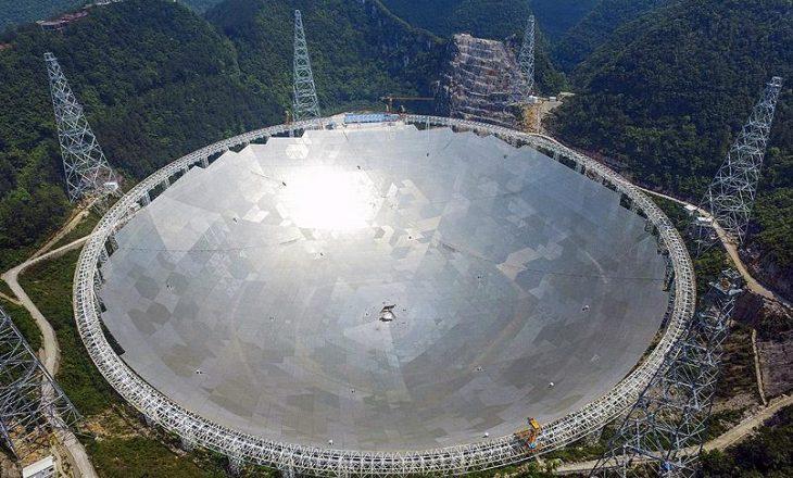 Radioteleskopi më i madh në botë hapet për vizitorë