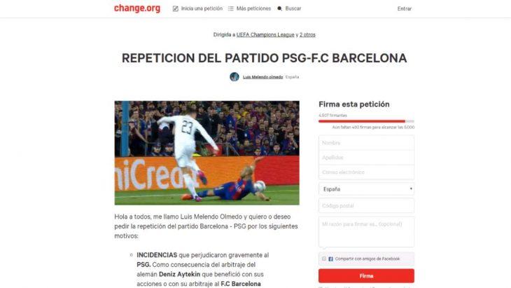 peticion