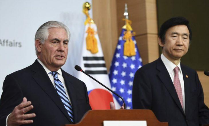 SHBA-të nuk e përjashtojnë ndërhyrjen ushtarake ndaj Koresë së Veriut