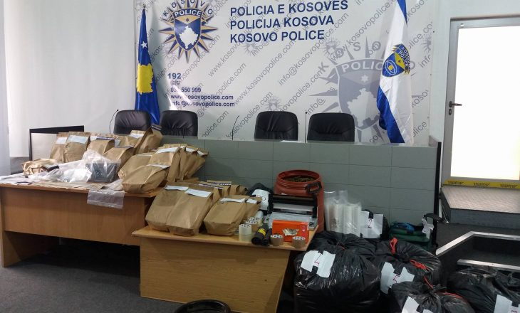 Policia konfiskon 150 kilogramë drogë