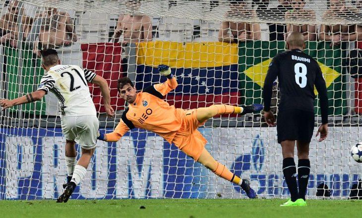 Juventusit i mjafton një gol nga penalltia, mposht Porton [video]