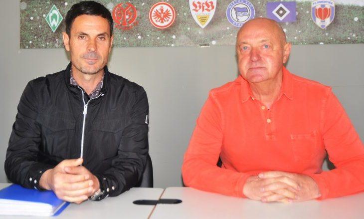 Arsim Thaçi trajner i ri i Prishtinës