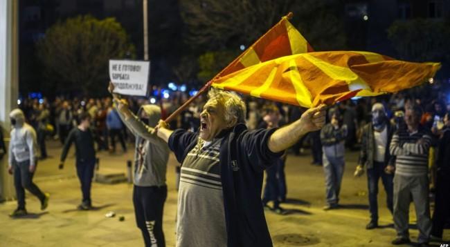 Fyerje dhe ofendime ndaj shqiptarëve në Shkup