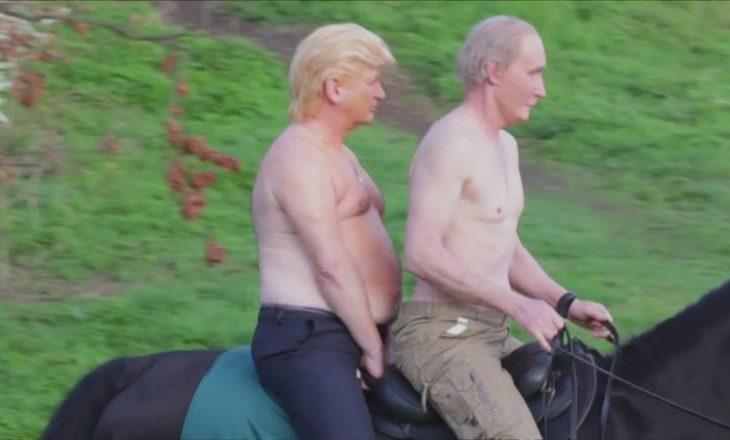 """Trump dhe Putin """"shokojnë"""" udhëtarët në Londër"""
