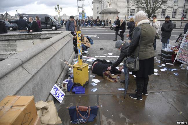 Video e parë e publikuar e sulmit në Londër